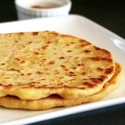 Ленивый хачапури на кефире с сыром - рецепт с фото
