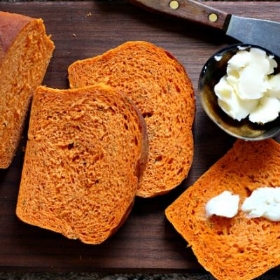 Томатный хлеб - рецепт с фото