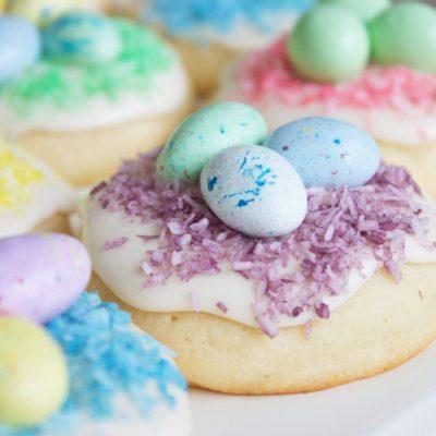 Классическое американское печенье с глазурью - рецепт с фото