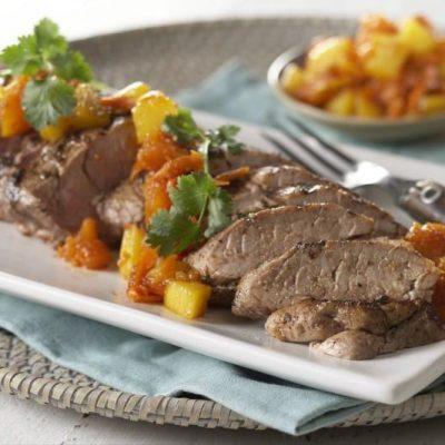 Пряная говядина с ромом и папайей - рецепт с фото