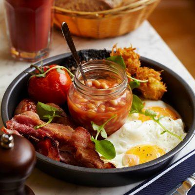 Завтрак по-английски - рецепт с фото
