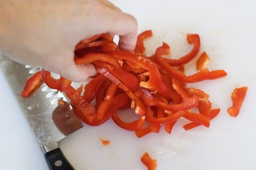 Фото рецепта - Китайская лапша-салат - шаг 9