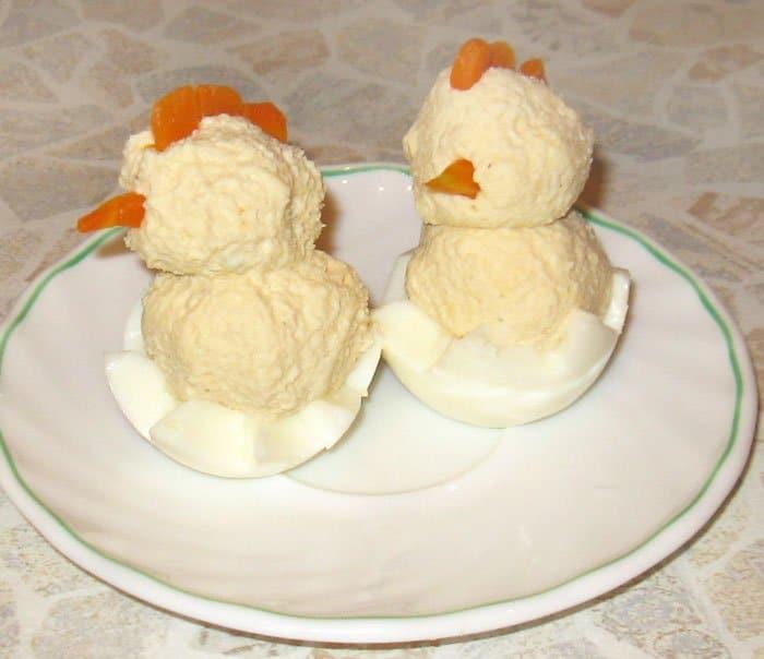 Фото рецепта - «Цыплятки» для ребяток – завтрак для детей - шаг 4