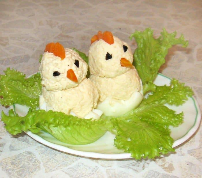 «Цыплятки» для ребяток – завтрак для детей - рецепт с фото
