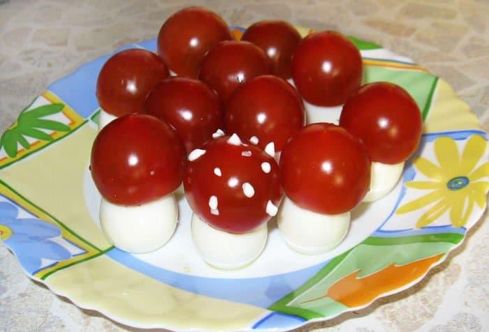 Грибочки детям - рецепт с фото