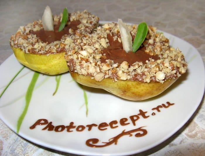 Фото рецепта - Груши в шоколаде - шаг 6