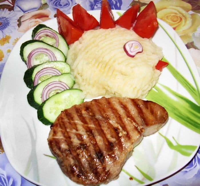 Жаренный тунец на гриле - рецепт с фото