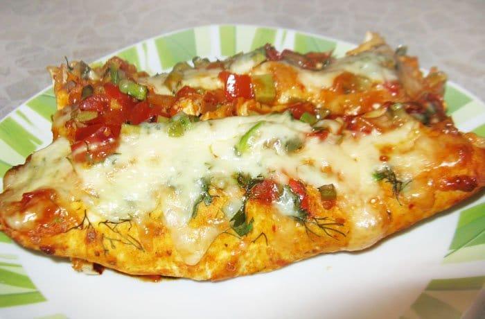 Энчиладас с курицей и зеленым горошком - рецепт с фото
