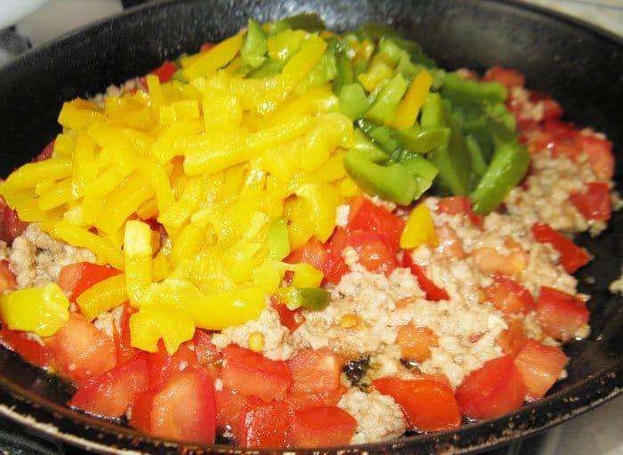 Фото рецепта - Спагетти с овощами по-итальянски - шаг 7