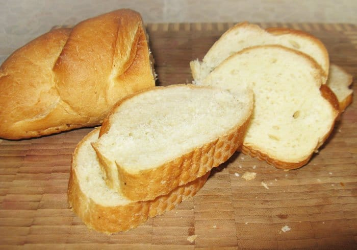 Фото рецепта - Брускетты с соусом Песто - шаг 1
