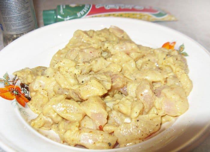Фото рецепта - Паста с куриным филе и спаржей - шаг 1