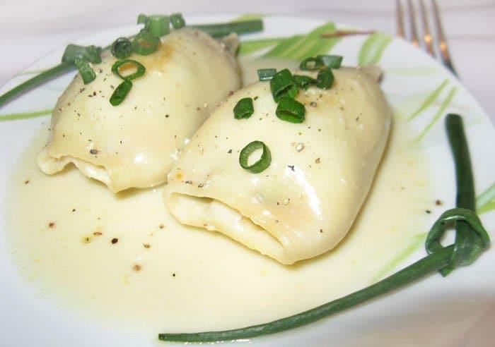 Фото рецепта - Кальмары фаршированные овощами - шаг 5