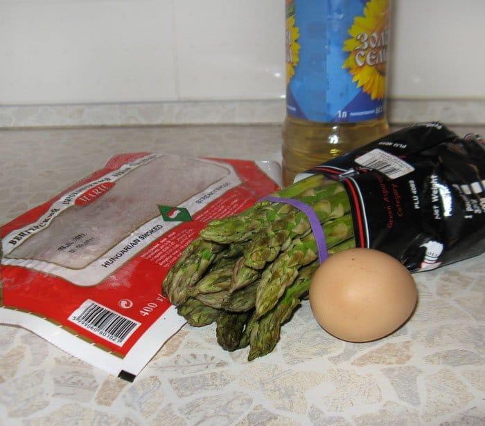 зеленая спаржа рецепты приготовления с фото