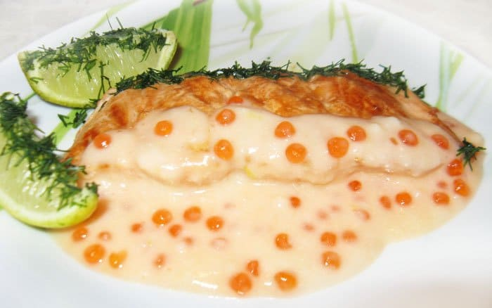 Сюпрем — соус со сливками и лимоном - рецепт с фото