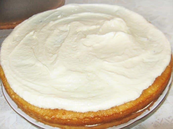 Торт фудзияма рецепт пошагово