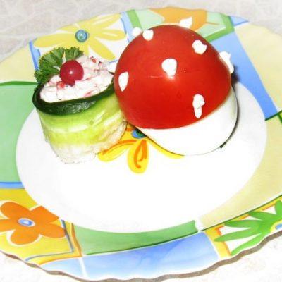 Яйца, фаршированные крабовым мясом - рецепт с фото