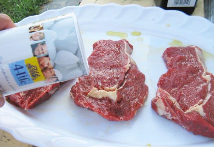 Фото рецепта - Мясо жаренное на сковороде или на углях - шаг 2