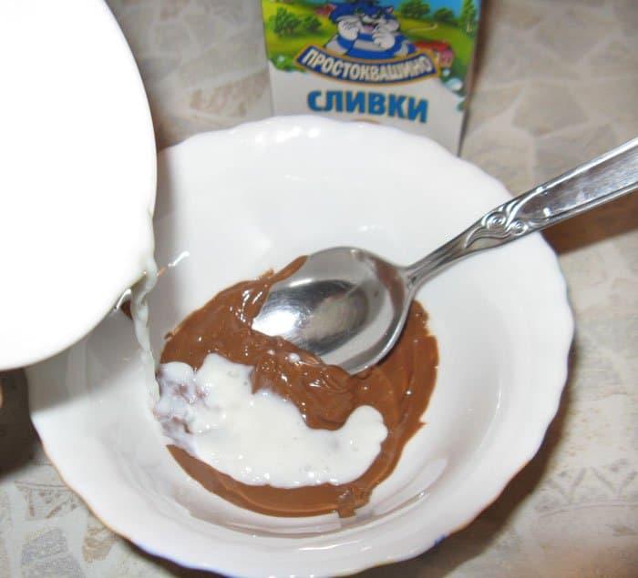 Фото рецепта - Груша «Бель Элен» с шоколадным соусом - шаг 3