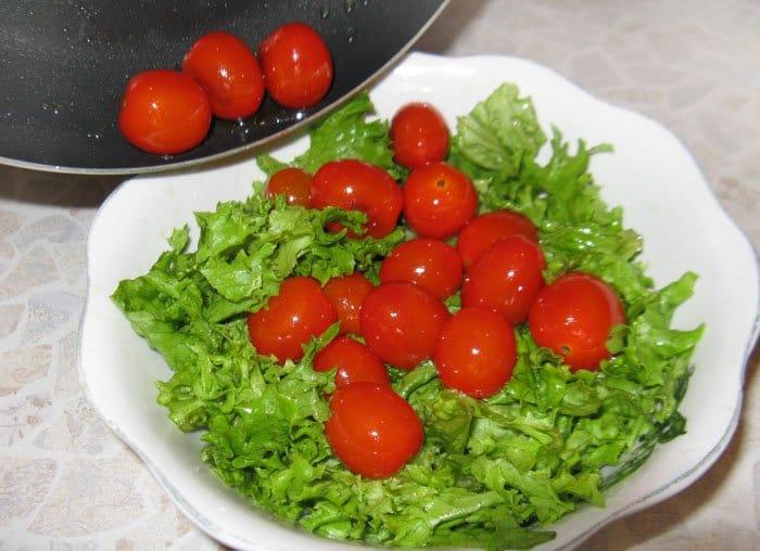 Фото рецепта - Салат по-французски - шаг 3