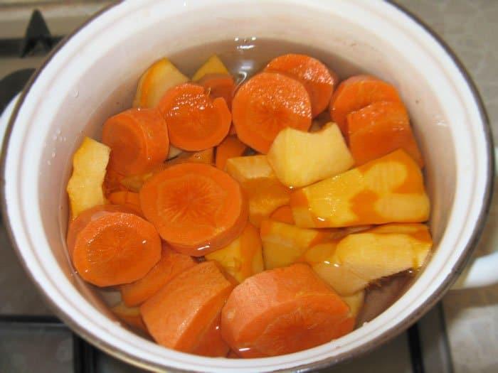 Фото рецепта - Овощной террин - шаг 3