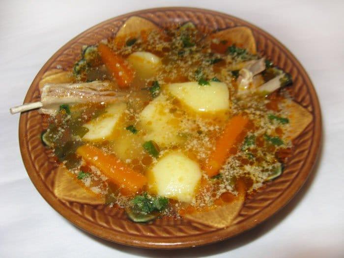 Шурпа из баранины - рецепт с фото