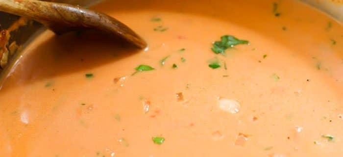 Томатный суп пюре - рецепт с фото