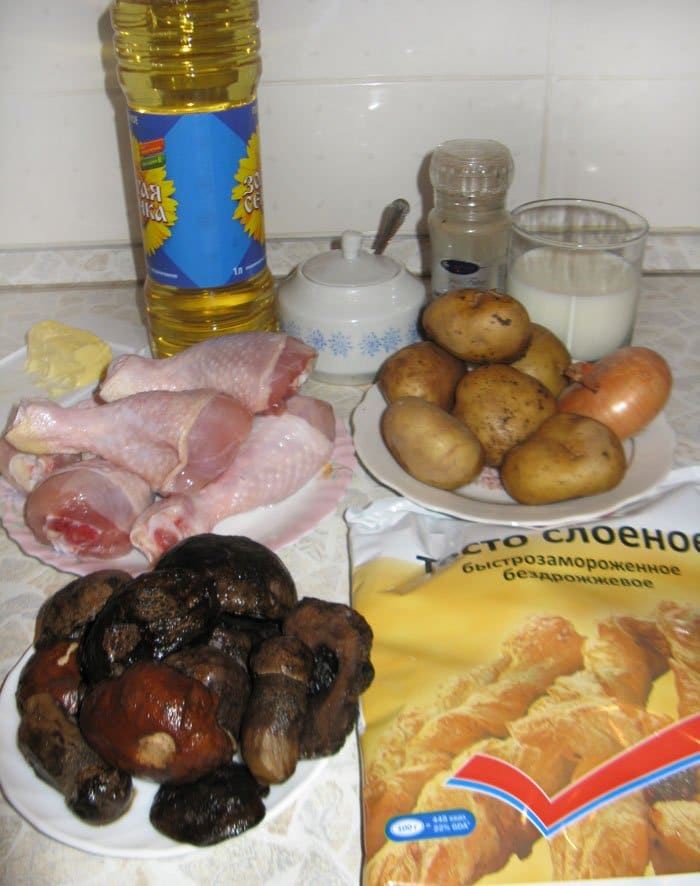 Фото рецепта - Куриные ножки в мешочке - шаг 1