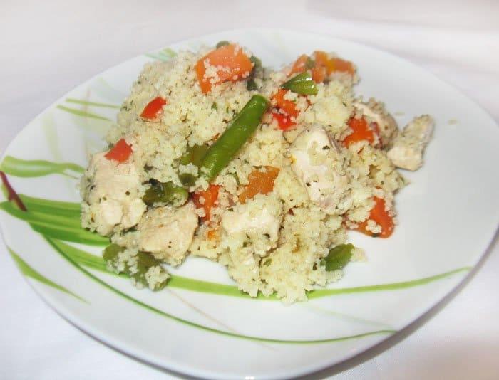Кус-кус с курицей по-мароккански - рецепт с фото
