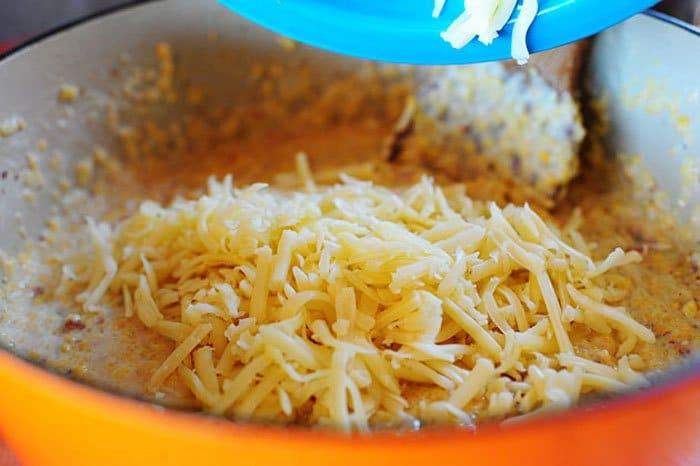 Фото рецепта - Кус кус в сливках под сыром - шаг 5