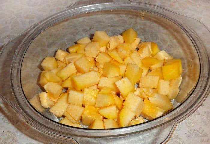 Фото рецепта - Овощи под сладким мандариновым соусом - шаг 3