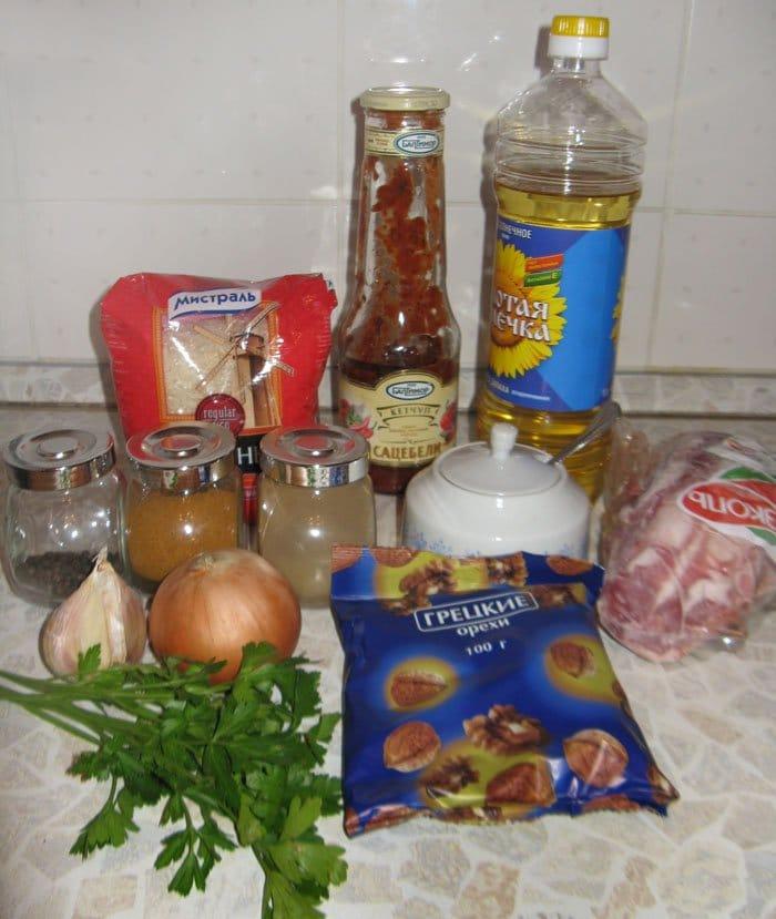 Фото рецепта - Харчо из баранины - шаг 1