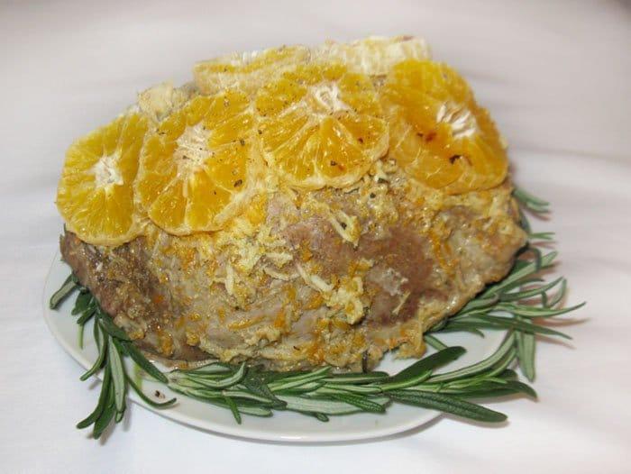 Запеченная свинина в фольге «Новогоднее настроение» - рецепт с фото
