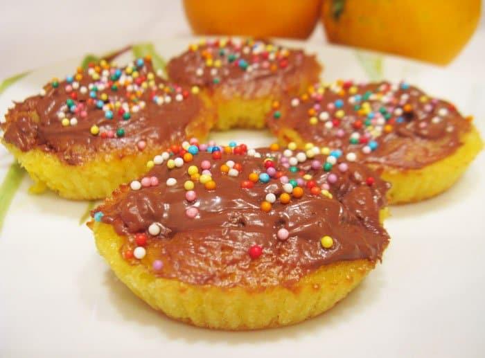 Капкейки с апельсинами