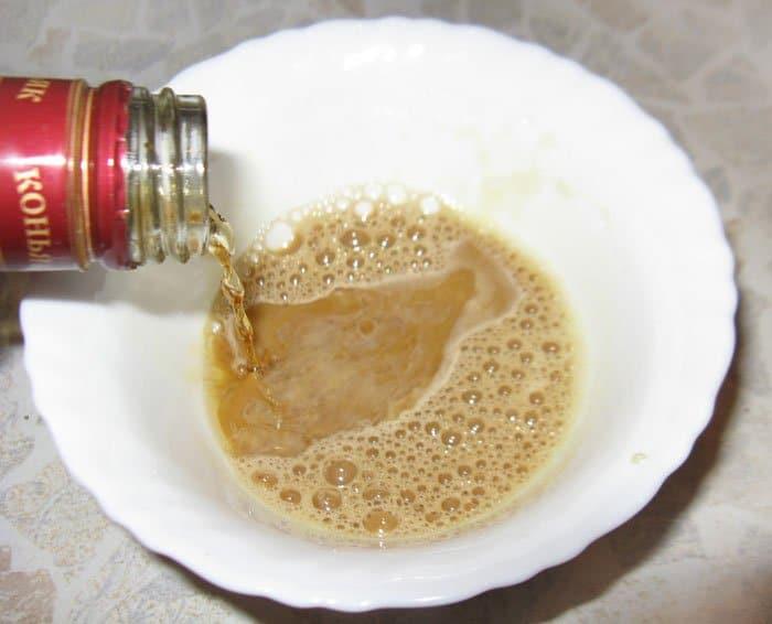 Фото рецепта - Каштаны с кофейным кремом - шаг 4