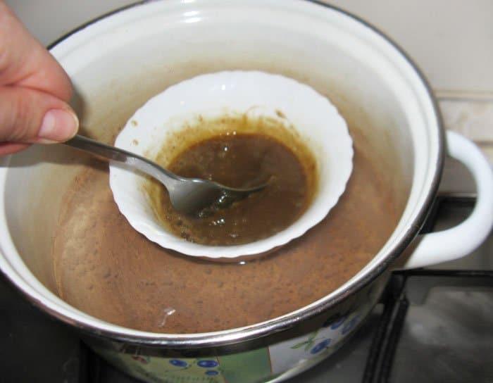 Фото рецепта - Каштаны с кофейным кремом - шаг 6