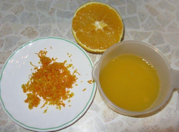 Фото рецепта - Новогоднее апельсиновое печенье - шаг 1