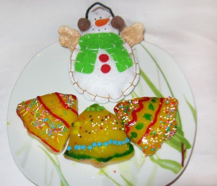 Новогоднее апельсиновое печенье - рецепт с фото