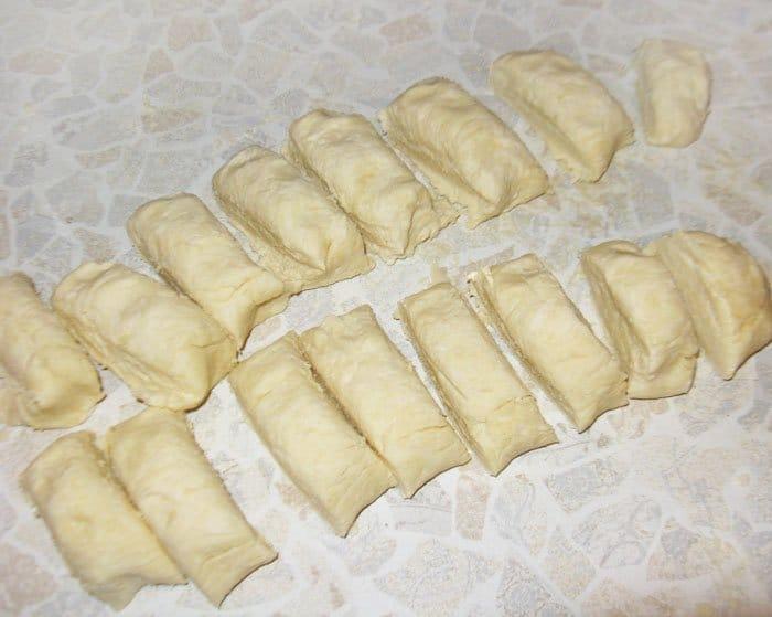 Фото рецепта - Творожное печенье «Ракушка» - шаг 3