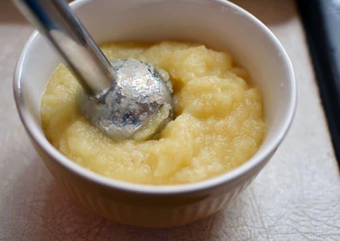 Фото рецепта - Яблочное пюре - шаг 4