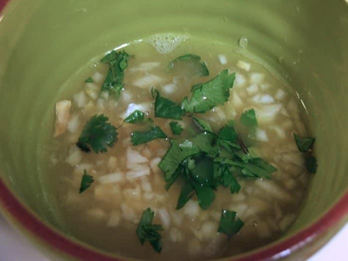 Фото рецепта - Стейк маринованный с «тройным» цитрусовым соусом - шаг 2