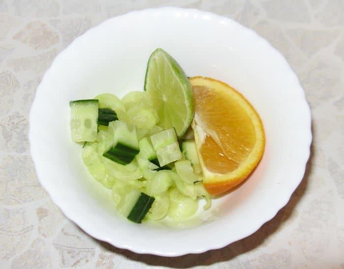 Фото рецепта - Огуречный лимонад - шаг 1