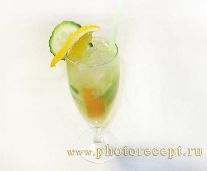 Огуречный лимонад - рецепт с фото