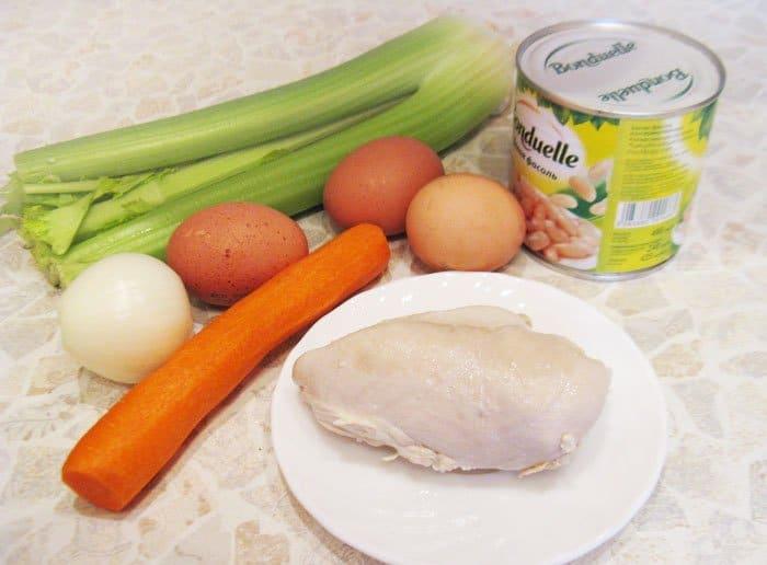 Фото рецепта - Салат «Пасхальное яйцо» - шаг 1
