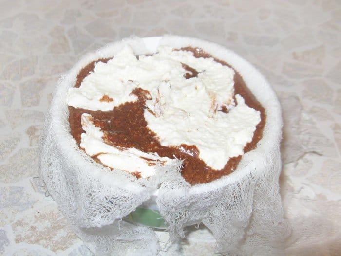 Фото рецепта - Шоколадная пасха - шаг 5