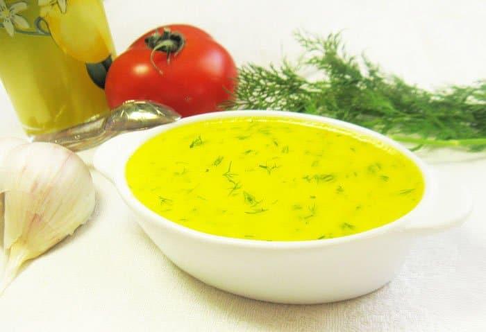 Фото рецепта - Чесночный соус с болгарским перцем - шаг 5