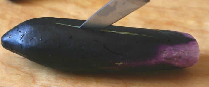 Фото рецепта - Фаршированные баклажаны, перец и помидоры - шаг 1