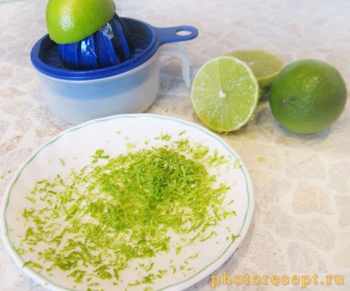 Фото рецепта - Пирог Key Lime с лаймом и сгущенкой - шаг 3