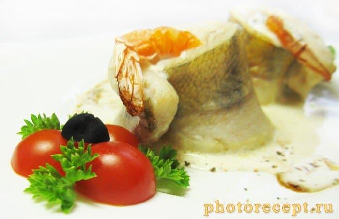 Фото рецепта - Роллы из судака с креветками - шаг 8