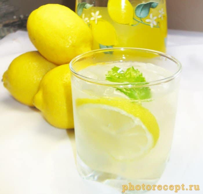 Фото рецепта - Домашний лимонад - шаг 5