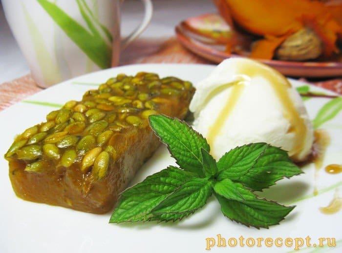 Тыквенный сладкий десерт - рецепт с фото